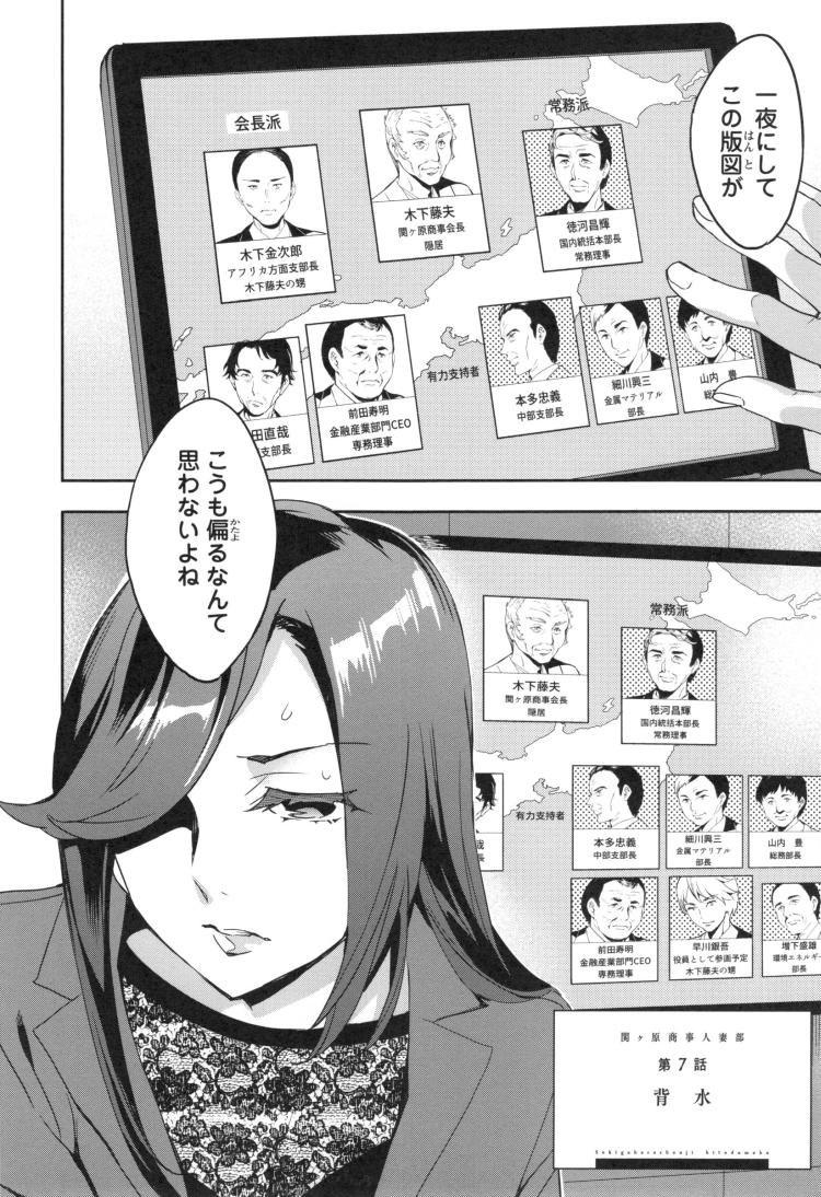 関ヶ原商事人妻部 第7話 背水00002
